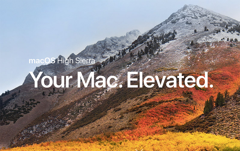 Mac users running High Sierra, drop everything and install this security update now! (Updated)