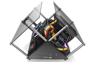 The Thermaltake Core P90 Tempered Glass Edition is everything you need to show off your rig