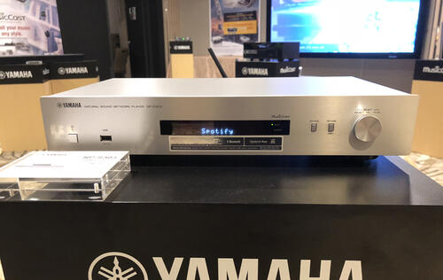 Yamaha's latest network player supports DSD files at just S$499