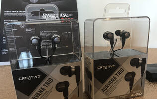 Hands-on: Creative Aurvana Trio, hybrid triple-driver IEMs
