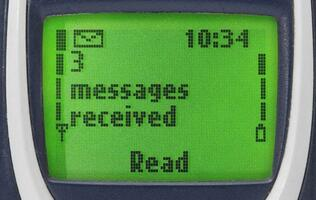 The first SMS was sent 25 years ago - this is what it said