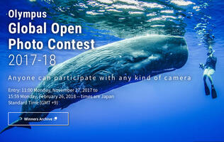 Join the Olympus Global Open Photo Contest and stand a chance to win ¥1,000,000