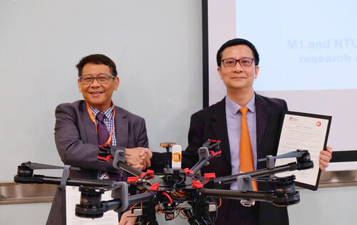 M1 and NTU researching 4.5G HetNet for secure drone operations