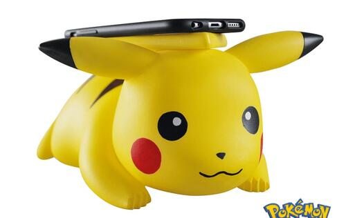 Pikachu! I choose you to charge my iPhone X!