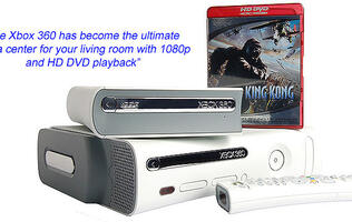 First Looks: Microsoft Xbox 360 HD DVD Drive
