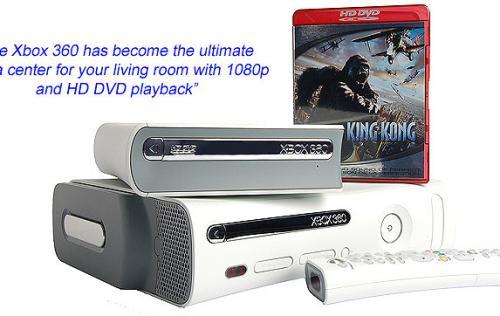 First Looks: Microsoft Xbox 360 HD DVD Drive - HardwareZone