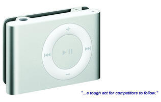 First Looks: Apple iPod shuffle (2nd Generation)