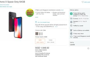 Deal Alert: Great deals on the entire Apple product range at Lazada's official store (updated with one day only iPhone X deal!)