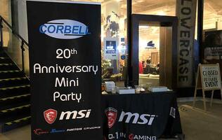 Corbell Technology celebrates 20th anniversary with food, drinks, and plenty of lucky draw prizes