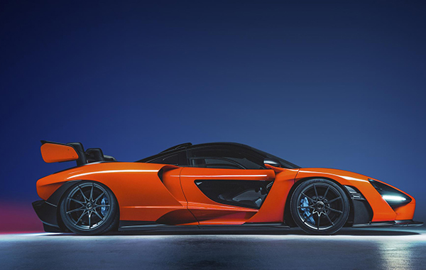 Orange, weird-looking, and very powerful, meet the new McLaren Senna