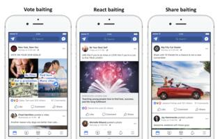 Facebook clamps down on Pages that beg for Likes and Shares