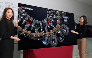 LG Display has successfully made an 88-inch 8K OLED display