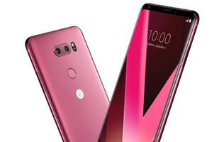 Raspberry Rose LG V30+ launching in Singapore this Saturday!