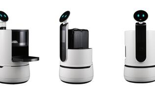 LG is testing three new concept robots at hotels, airports and supermarkets