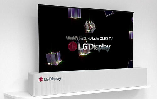 LG shows off 65-inch rollable 4K OLED display at CES 2018