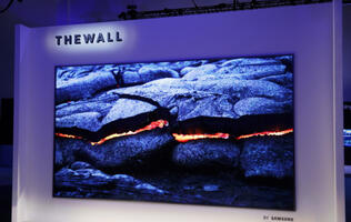 "Samsung's 146-inch ""The Wall"" is one ginormous modular microLED TV"