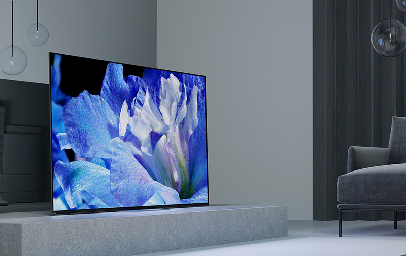 The Bravia A8F and X9000F are Sony's flagship 4K OLED and LCD TVs this year