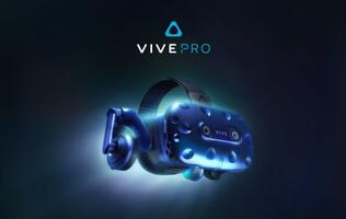 HTC's updated Vive Pro VR headset has a higher resolution display and built-in headphones