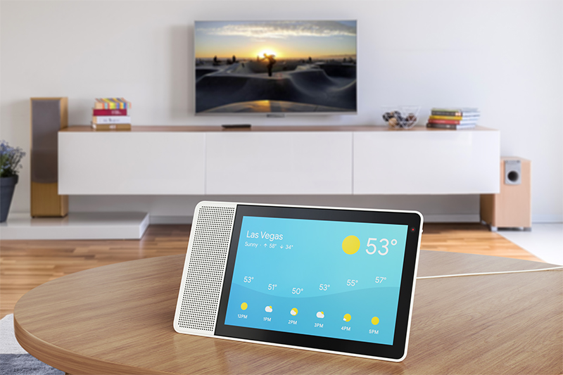 Lenovo's Smart Display is a Google Assistant-powered competitor to the Amazon Echo Show