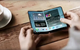 Samsung's foldable phone could launch at the end of the year