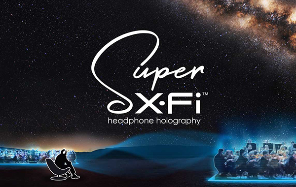 Listening to Creative's new Super X-Fi Headphone Holography technology