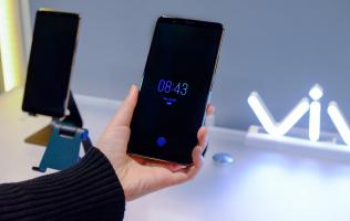 Vivo showcases the world's first phone with an in-display fingerprint scanner