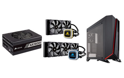 Corsair outs new PSU, PC casing, and coolers at CES 2018