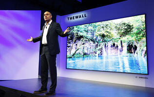 Samsung showcases holy grail of TV tech, kickstarts comeback story at CES 2018