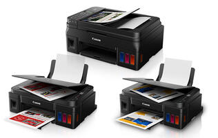 Canon updates its Pixma G ink tank printer series with three new models
