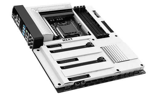 NZXT's N7 Z370 is its first ever motherboard, and it's simply stunning (Updated)