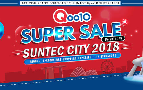 Deal alert: 8 things to buy at Qoo10's Suntec Super Sale event that's happening Jan 25 - 28