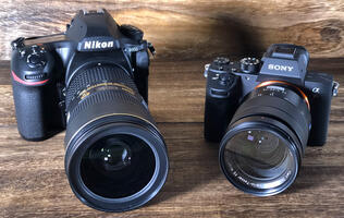 Nikon D850 vs. Sony A7R III: Speedy full-frame titans compared