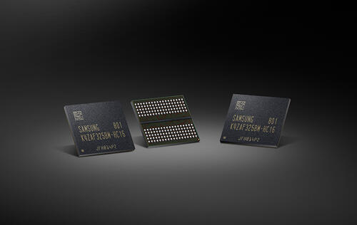 Samsung has begun mass production of GDDR6 memory chips
