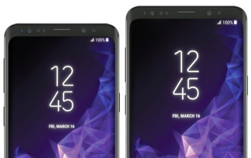 These should be the official image and specs of the Galaxy S9 and S9+