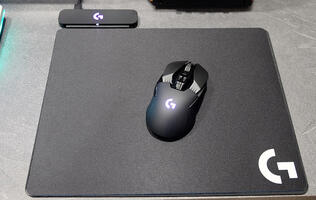 Logitech PowerPlay mouse mat review: Never plug in your mouse again