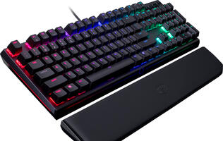 Cooler Master launches MasterKeys MK750 keyboard with RGB backlighting and removable wrist rest