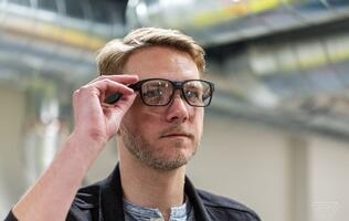 Intel's new Vaunt smart glasses look just like normal spectacles