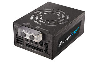FSP made a liquid-cooled power supply with the 1,400W Hydro PTM+