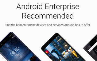 Google announces Android phone recommendation program for businesses