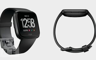 Press renders of Fitbit's upcoming smartwatch leaked