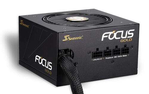 Seasonic's value-oriented Focus Gold power supplies are now available to buy here