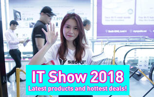 Watch: Hottest products and deals at IT Show 2018!