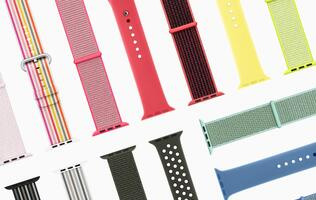 New Apple Watch bands in spring colors and styles available later this month