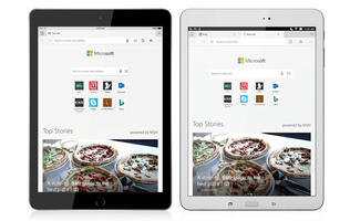 Microsoft releases its Edge browser for iPad and Android tablets