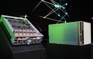 The NVIDIA DGX-2 is the world's first 2-petaflop single server supercomputer