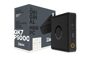 Zotac's Q-series mini PCs are tiny, fast workstations powered by NVIDIA's Quadro graphics