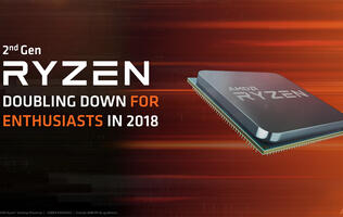 AMD announces second-generation Ryzen processors and new X470 chipset