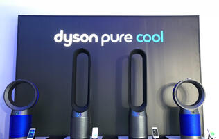 In pictures: The new Dyson Pure Cool purifying fans tell you how clean your home is