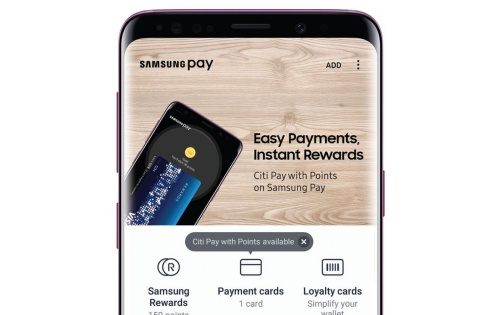Citi Pay with Points on Samsung Pay available in Southeast Asia and Oceania