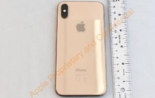FCC photos reveal the unreleased gold iPhone X